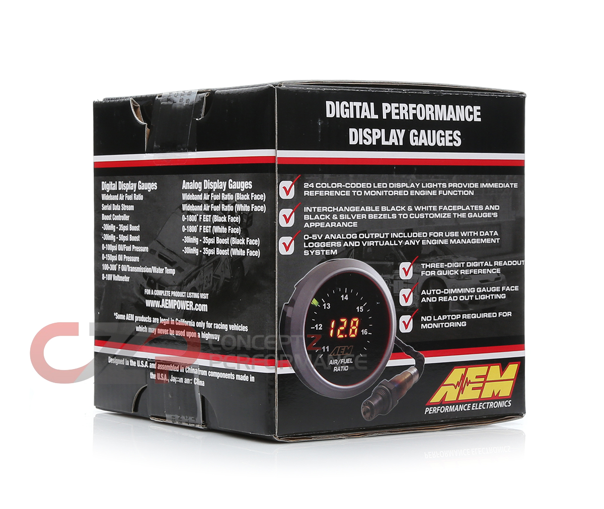 aem oil pressure gauge wiring diagram how to draw dot diagrams 30 4407 digital 150 psi 52mm