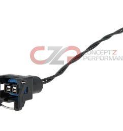 czp knock detonation sensor female connector quick disconnect nissan 300zx z32 [ 1400 x 957 Pixel ]