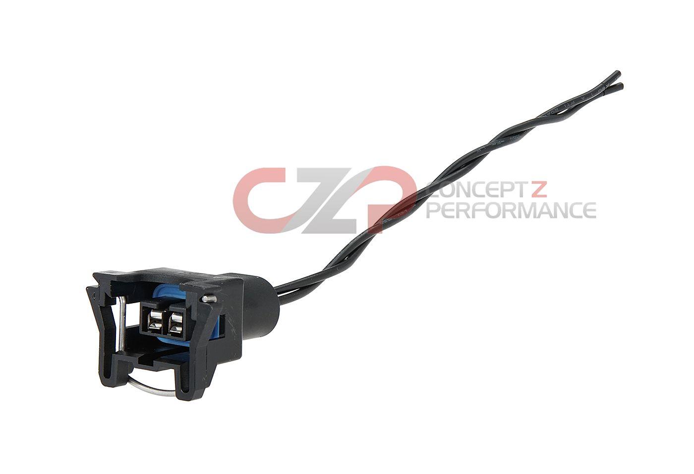 hight resolution of czp knock detonation sensor female connector quick disconnect nissan 300zx z32