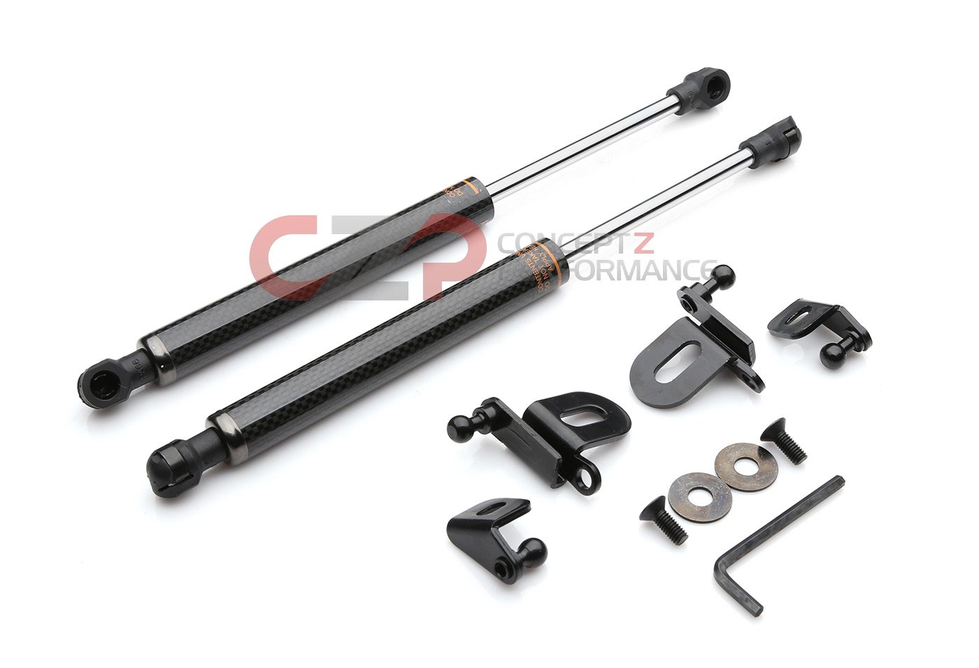 Circuit Sports Ehd Ig35c Tp Hood Damper Strut Kit Carbon