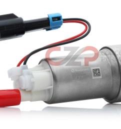 walbro f90000274 universal high pressure fuel pump w higher pressure relief valve ethanol [ 1557 x 819 Pixel ]