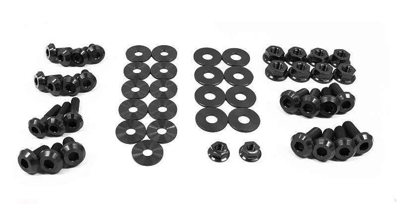 Dress Up Bolts NIS-009-TI Titanium Dress Up Kit, Engine