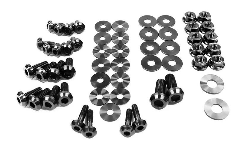 Dress Up Bolts NIS-035-TI Titanium Dress Up Kit, Engine