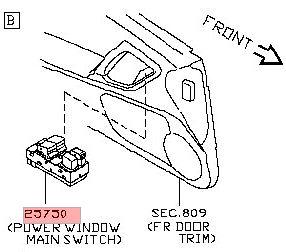 Body & Aero :: Door & Side Window :: Window Switches