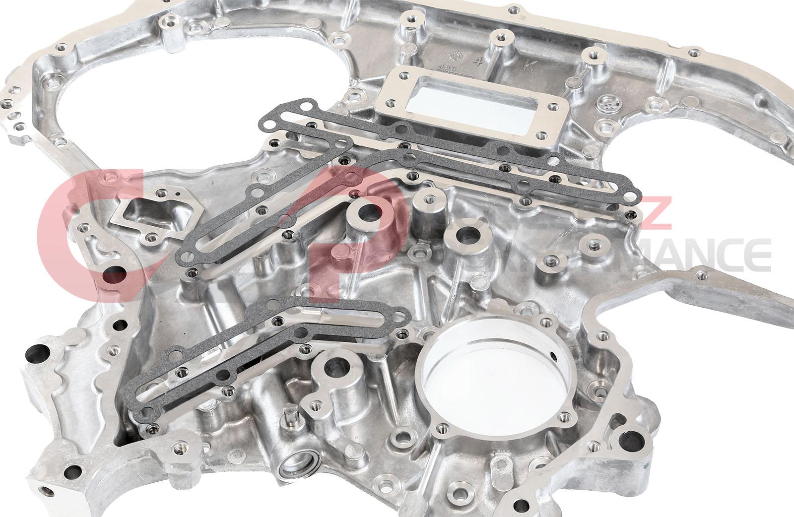 hight resolution of czp rear timing cover oil gallery gasket set vq35de nissan 350z infiniti g35 fx35 13533 vq35de kt b 7991a26x14 kt concept z performance