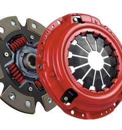 mcleod racing stage 2 supremacy street power 6 puck carbotic clutch kit nissan 240sx [ 1080 x 734 Pixel ]