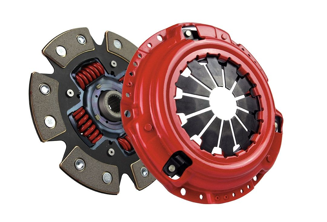 hight resolution of mcleod racing stage 2 supremacy street power 6 puck carbotic clutch kit nissan 240sx