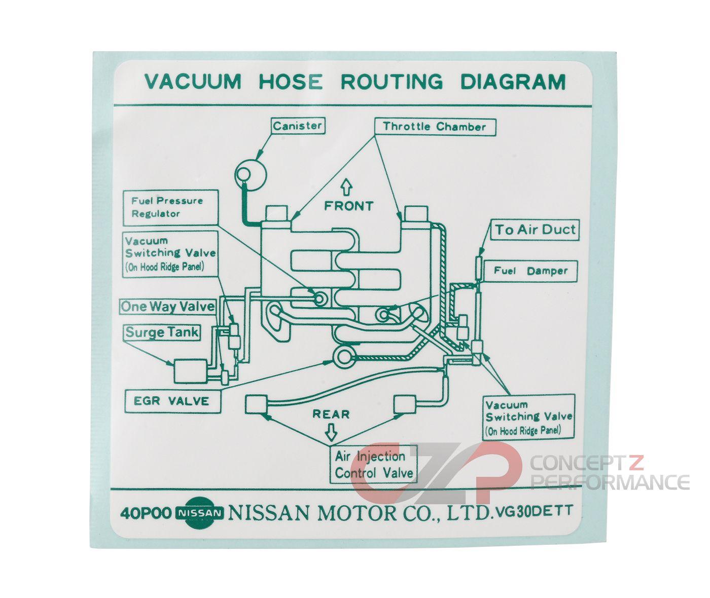 hight resolution of infiniti vacuum diagram