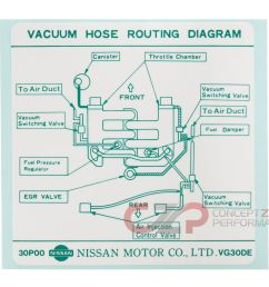 nissan infiniti label vacuum piping diagram 22304 30p00 universalinfiniti vacuum diagram 8 [ 1400 x 1149 Pixel ]