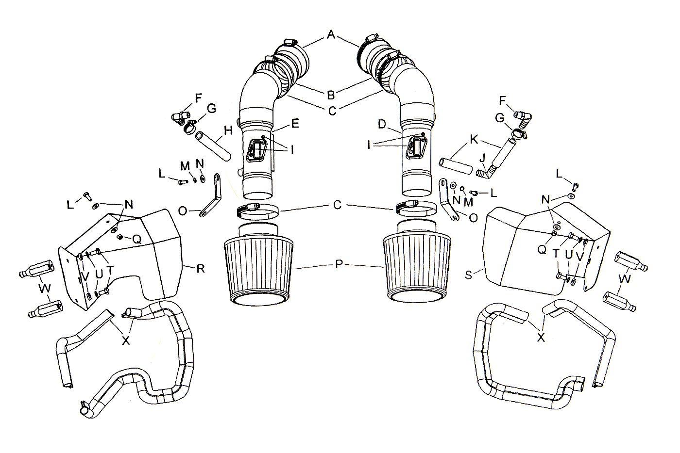 Nismo R Tune Dual Short Ram Cold Air Intake Kit