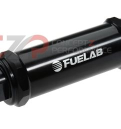 fuelab 828 series 10 micron long length in line fuel filter black [ 1400 x 941 Pixel ]