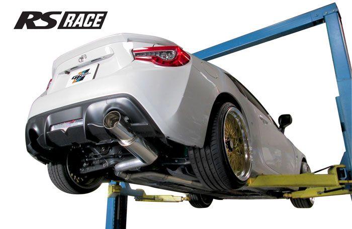 greddy gpp rs race single exit cat back exhaust system 4 5 tip subaru brz toyota 86 17 10118410 concept z performance