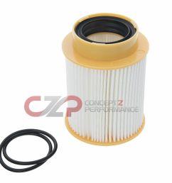 nissan oem fuel filter cartridge undercarriage nissan titan xd 5 0 diesel cummins [ 1400 x 1203 Pixel ]