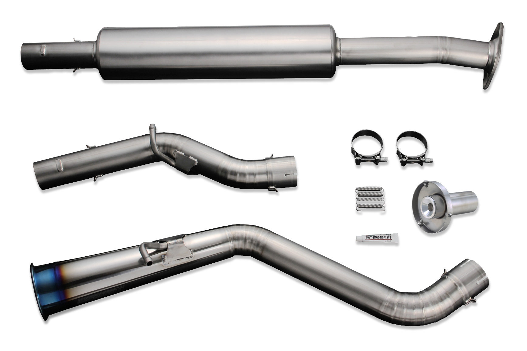 tomei expreme ti full titanium cat back exhaust system type 60r scion fr s 13 subaru brz 13 toyota 86 17 zn6 zc6 tb6090 sb03b concept z