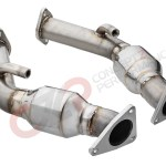 Aam Competition 2 5 Resonated Test Pipes Vq35hr Vq37vhr Nissan 350z 370z Infiniti G35 G37 Q40 Q60 Aam37e Restest Concept Z Performance
