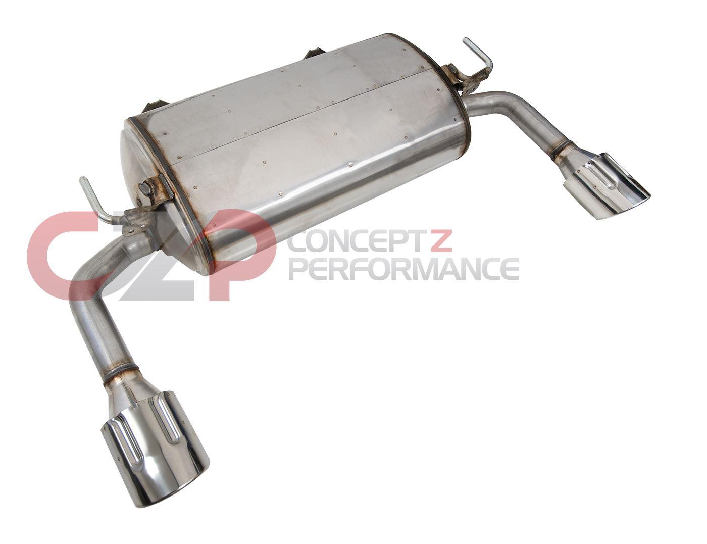 nissan infiniti infiniti oem exhaust muffler assembly infiniti q50 v37 3 5l 3 7l 20100 4ga0d concept z performance