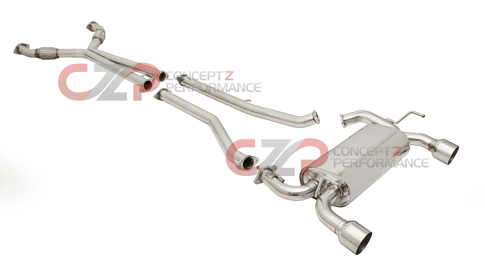 hight resolution of dc sports scs6205 single canister cat back exhaust 03 08 nissan 350z pt cruiser exhaust diagram