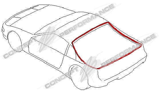 Nissan / Infiniti Nissan OEM Rear Hatch Weatherstrip Seal