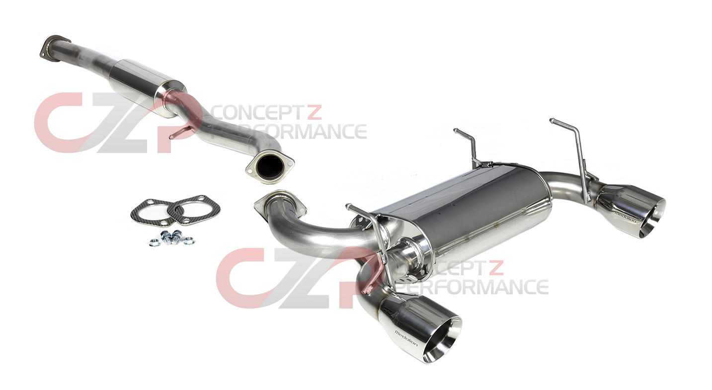 revel tanabe medallion touring y pipe back exhaust system infiniti g35 coupe 03 07 v35 t70073r concept z performance