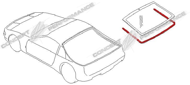 Nissan / Infiniti Nissan OEM Rear Hatch Outside Exterior