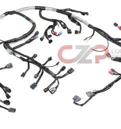 wiring specialties efi engine wiring harness w quick disconnect 300zx z31 engine wiring harness 300zx engine wiring harness [ 1500 x 855 Pixel ]