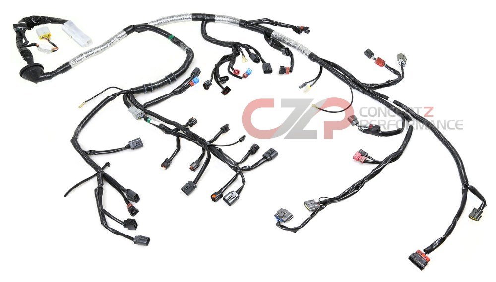 medium resolution of wiring specialties efi engine wiring harness w quick disconnect left hand driver lhd nissan 300zx 90 95 z32 wrs z32 main wrs z32 main e wrs z32 main l