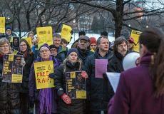 Raif Badawi Protest, Oslo, Norway