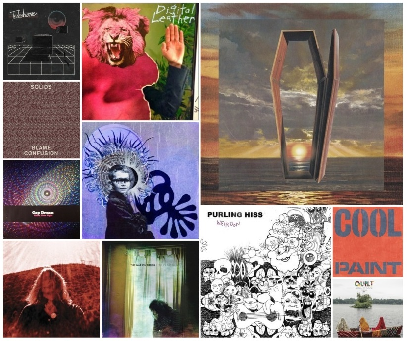 Top Albums Of 2014 by Brandon Parsons