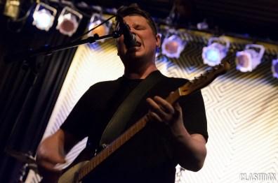 Adam Thompson of We Were Promised Jetpacks at Cats Cradle © Dan Kulpa