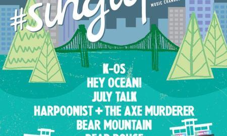 sing it forward 2015 K-OS + July Talk + Hey Ocean! + Bear Mountain + Harpoonist + The Axe Murderer + Dear Rouge + Jordan Klassen + Bend Sinister at The Vogue Theatre