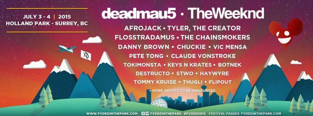 fvded in the park 2015 lineup
