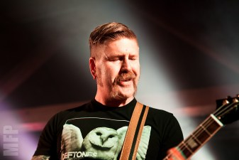 Bill Kelliher of Mastodon @ Showbox SODO © Michael Ford
