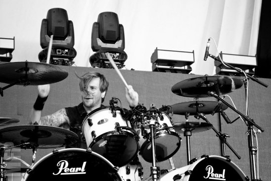 Michael Thomas of Bullet for My Valentine © Michael Ford