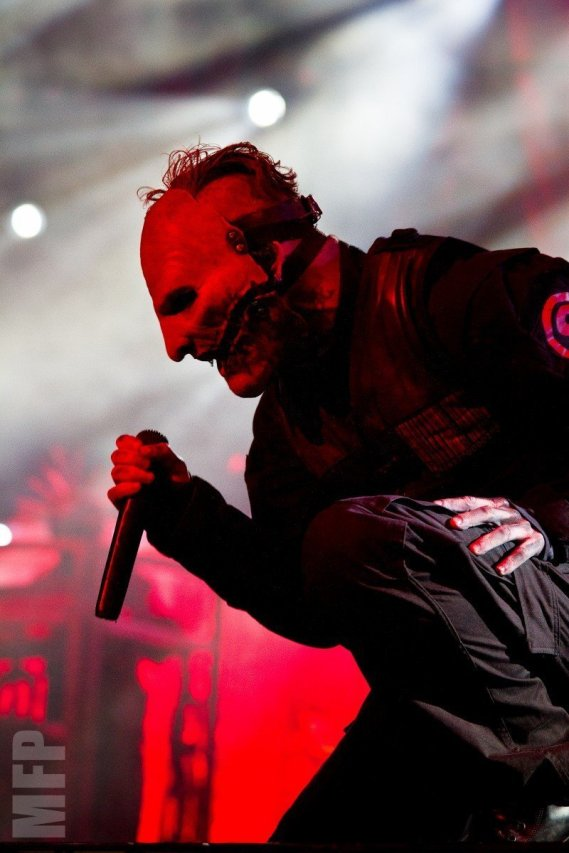 Corey Taylor of Slipknot @ White River Amphitheatre during Pain in the Grass © Michael Ford