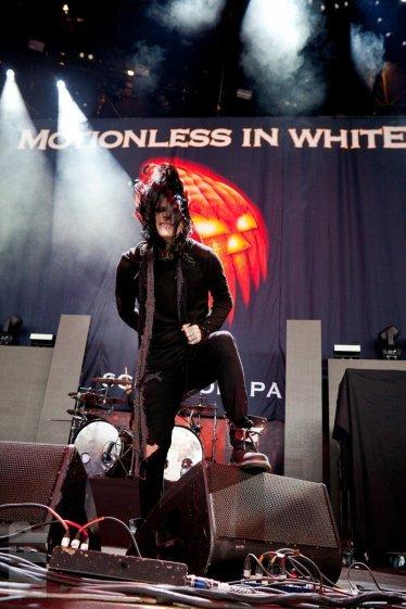 Chris Motionless of Motionless in White © Michael Ford