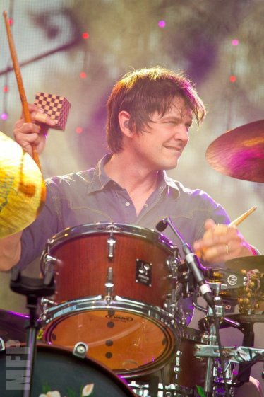 Glenn Kotche of Wilco at Marymoor Park © Michael Ford