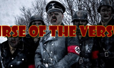 curse of the versus podcast banner - Dead Snow 2 red vs dead movie 2014 poster