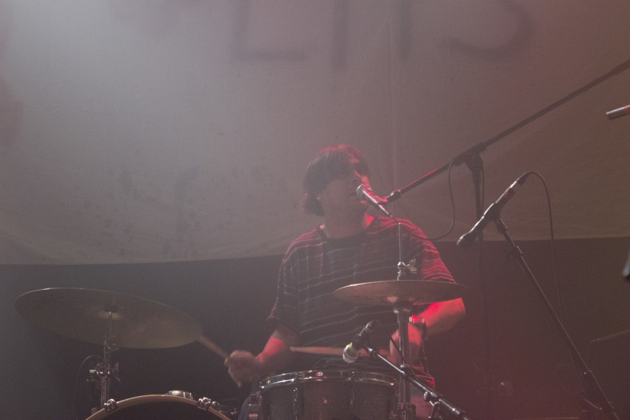 Black Lips drummer Joe Bradley.