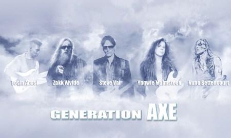 Generation Axe ft. Steve Vai, Zakk Wylde, Yngwie Malmsteen, Nuno Bettencourt, and Tosin Abasi at Queen Elizabeth Theatre