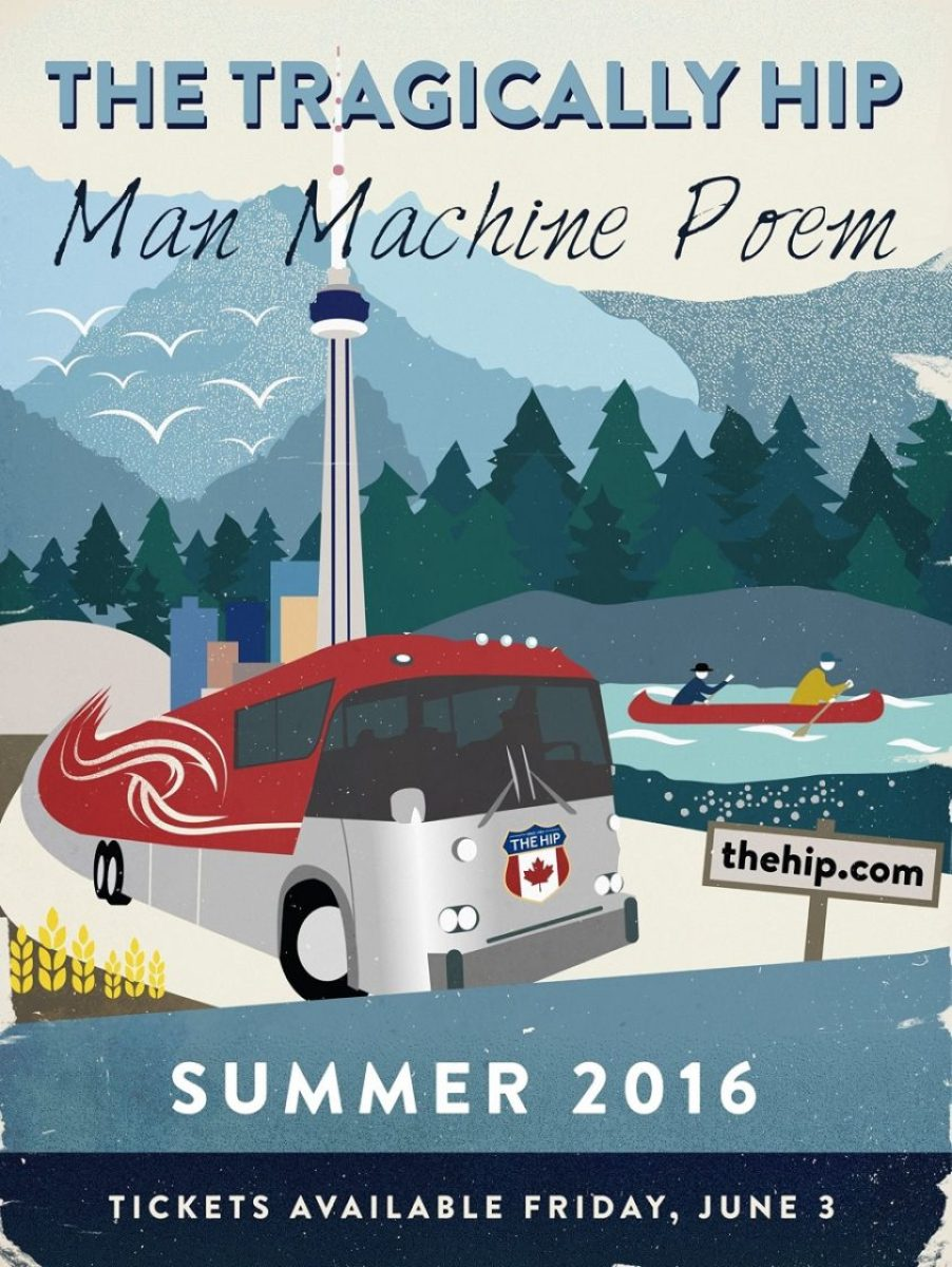The Tragically Hip Man Machine Poem Tour 2016