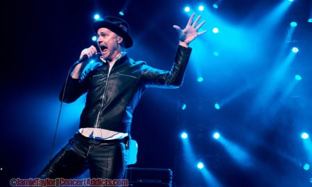 gord downie of the tragically hip rogers arena 2015