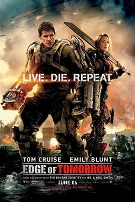 Concert Addicts Movie_Concert Addicts Movie_Edge Of Tomorrow [2014] cover poster