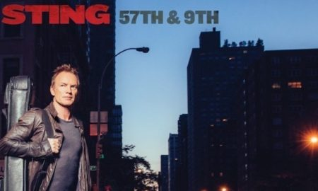Sting's New Album, 57th & 9th, To Be Released November 11 On A&M/Interscope Records (PRNewsFoto/A&M/Interscope Records)