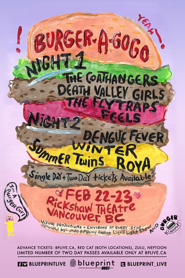 burger a go go poster vancouver rickshaw 2018