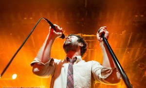 Michael Angelakos of Passion Pit at The Commodore Ballroom in Vancouver, BC on January 26th 2018 by jamie taylor