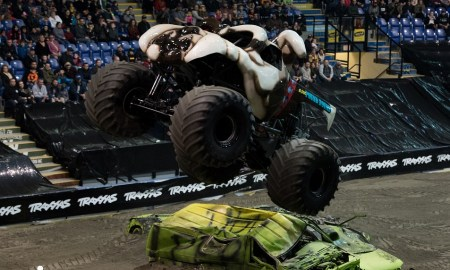Photos of the Traxxas Monster Truck Tour at the Save-on-Foods Memorial Centre - Jan 20th 2018 © RMS Media by Rob Porter
