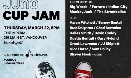 Juno Cup Jam ft. Odds + members of Big Wreck + The Strumbellas + many, many more at Imperial