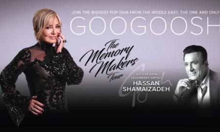 The Memory Makers Tour ft. Googoosh + Ardalan Sarfaraz + Hassan Shamaizadeh at Orpheum Theatre - May 26th, 2018