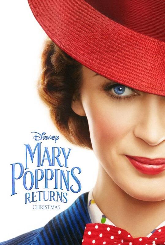 Mary Poppins Returns [2018] poster - Official Teaser Trailer