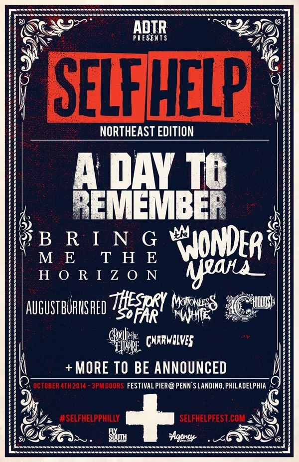 NEWS: A Day to Remember announce Northeast Self Help Fest - Speed ...